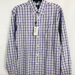 Johnnie-O Purple Plaid Dress Shirt Davidson